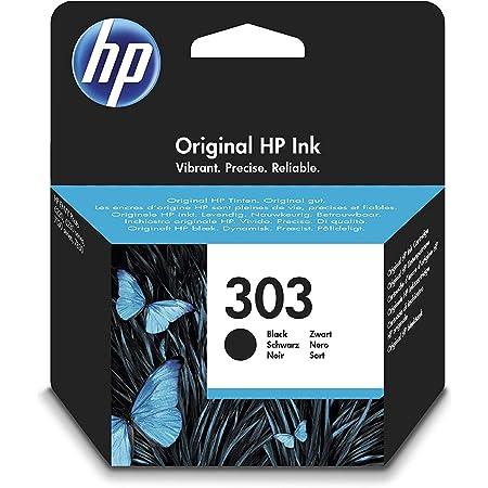 HP 303 Cartouche d'Encre Noire Authentique (T6N02AE)