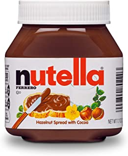 Nutella Chocolate Hazelnut Spread, Perfect Topping for Pancakes, 7.7 Ounce (Pack of 12)
