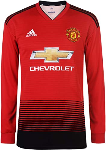 Adidas Manchester United FC Home Maillot à Manches Longues