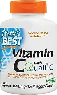 فيتامين سي من دكتورز بيست- 1000 ملغ - 120 كبسولة نباتية