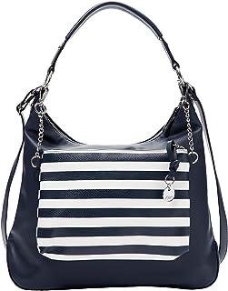 s.Oliver (Bags) 201.10.003.30.300.2037058, Tasche poche femme, Bleu (5970 Blue), Taille unique (one size)