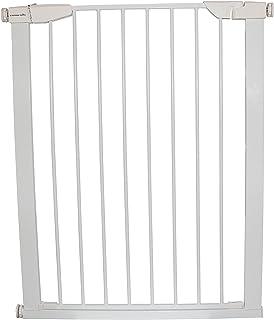 Cardinal Gates Extra Tall Auto-Lock Gate, White