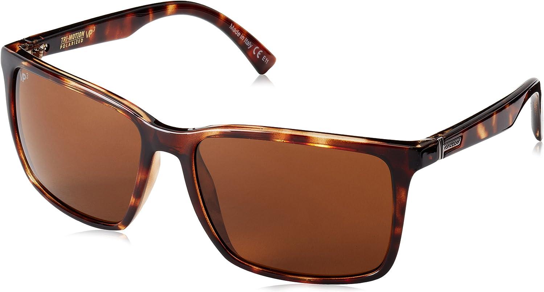 VonZipper Lesmore Polar Polarized Rectangular Sunglasses