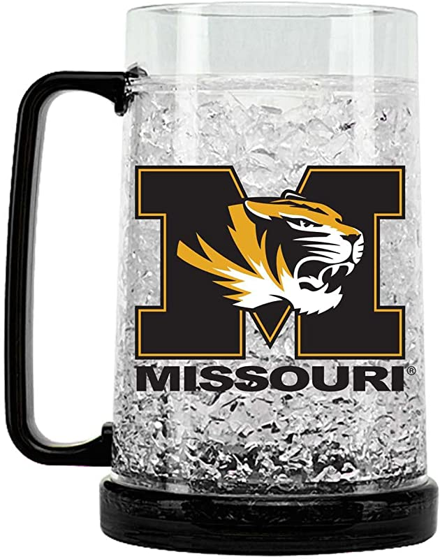 NCAA Missouri Tigers 16oz Crystal Freezer Mug
