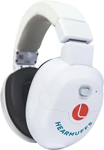 Lucid Audio HearMuffs SOOTHE Baby Hearing Protection (Over-the-ear Electronic Ear Muffs with Sound Protection and Amp...