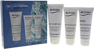 Biotherm Lait Corporel Discovery Kit, 3 Count
