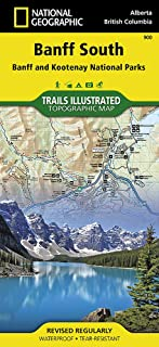 Banff South [Banff and Kootenay National Parks] (National Geographic Trails Illustrated Map (900))