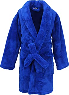 Kids Microfleece Robe for Girls and Boys, Plush Soft and Cozy Bathrobe for Kids