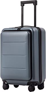 COOLIFE Luggage Suitcase Piece Set Carry On ABS+PC Spinner Trolley with Laptop pocket (Night navy, 20in(carry on))