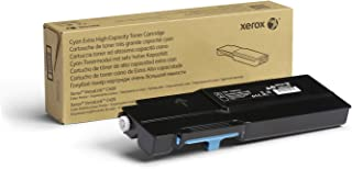 Genuine Xerox Cyan Extra High Capacity Toner Cartridge (106R03526) - 8,000 Pages for use in VersaLink C400/C405