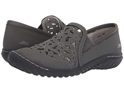 JBU Wildflower Moc (Charcoal) Women