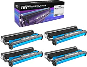 Speedy Inks Compatible Cartridge with Roll Replacement for Brother PC501 (4-Pack)