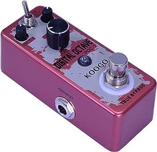 Koogo Precise Polyphonic Octave Effect Generator Pedal True Bypass
