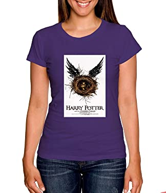 Harry Potter And The Cursed Child Tshirt Womens Tshirt Purple XL RF