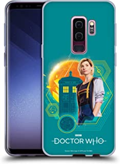 Head Case Designs Oficial Doctor Who Jodie Whittaker 2 Color Blanco Temporada 11 Composiciones Carcasa de Gel de Silicona ...