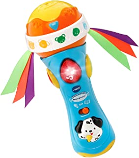 VTech Baby Babble and Rattle Microphone, Blue, Great Gift For Kids, Toddlers, Toy for..