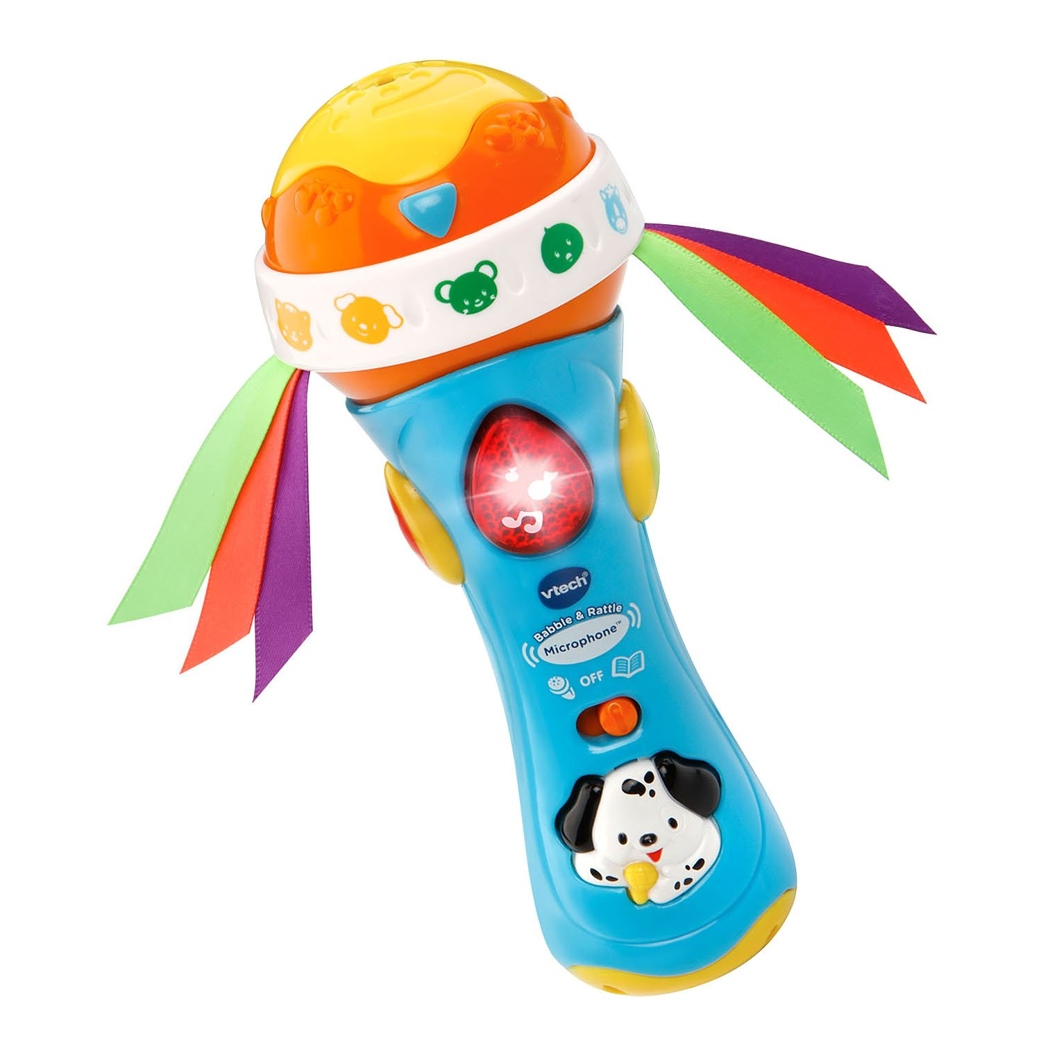VTech Baby Babble Rattle Microphone