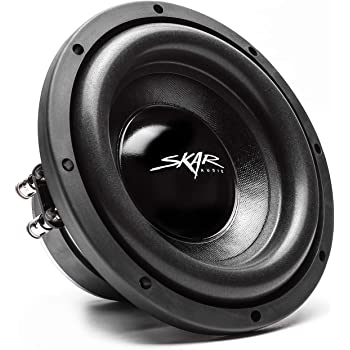 "Skar Audio IX-8 D2 8"" 300 Watt Max Power Dual 2 Ohm Car Subwoofer"