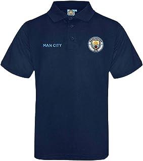 Manchester City - Polo oficial con escudo del Manchester City (talla S a 3XL)