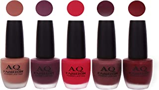 AQ Fashion Velvet Matte Nail polish Combo set 829