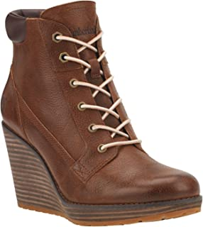 Womens Meriden Lace Ankle Boot, Dark Brown Woodlands (9 US)