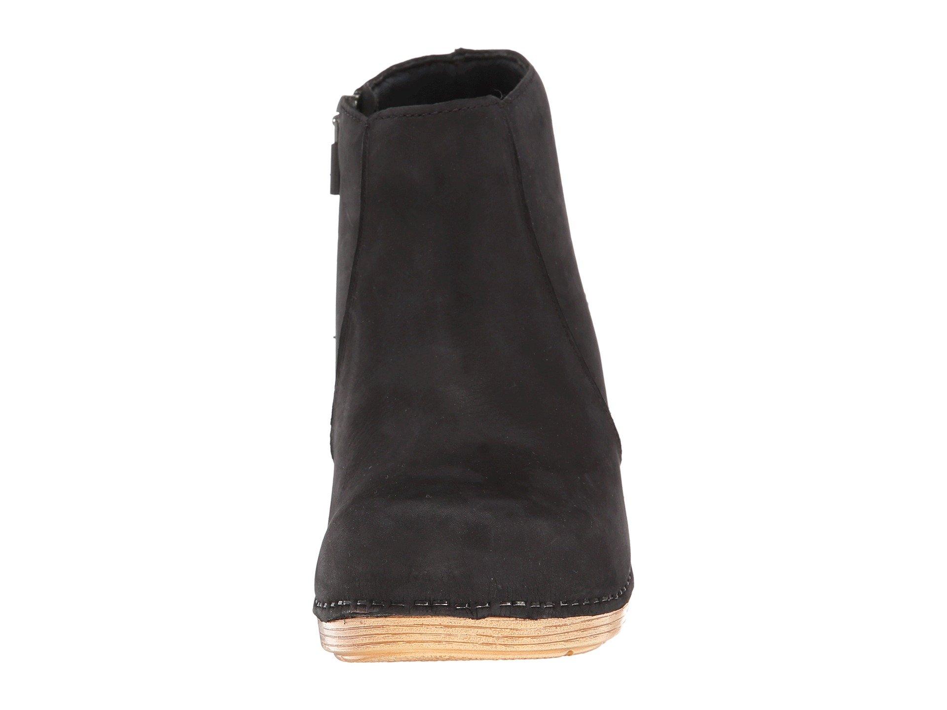 Dansko Black Milled Nubuck Dansko Maria Dansko Black Maria Milled Nubuck rtq86xw1r