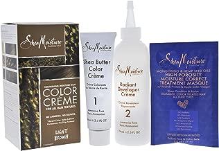 Shea Moisture Nourishing Hair Color Kit, Light Browm