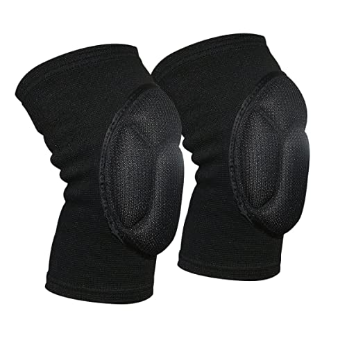50dddd70e5 Knee Pads Compression Knee Sleeve Collision Avoidance Knee Brace for  Volleyball Basketball Wrestling Running Cycling Sports