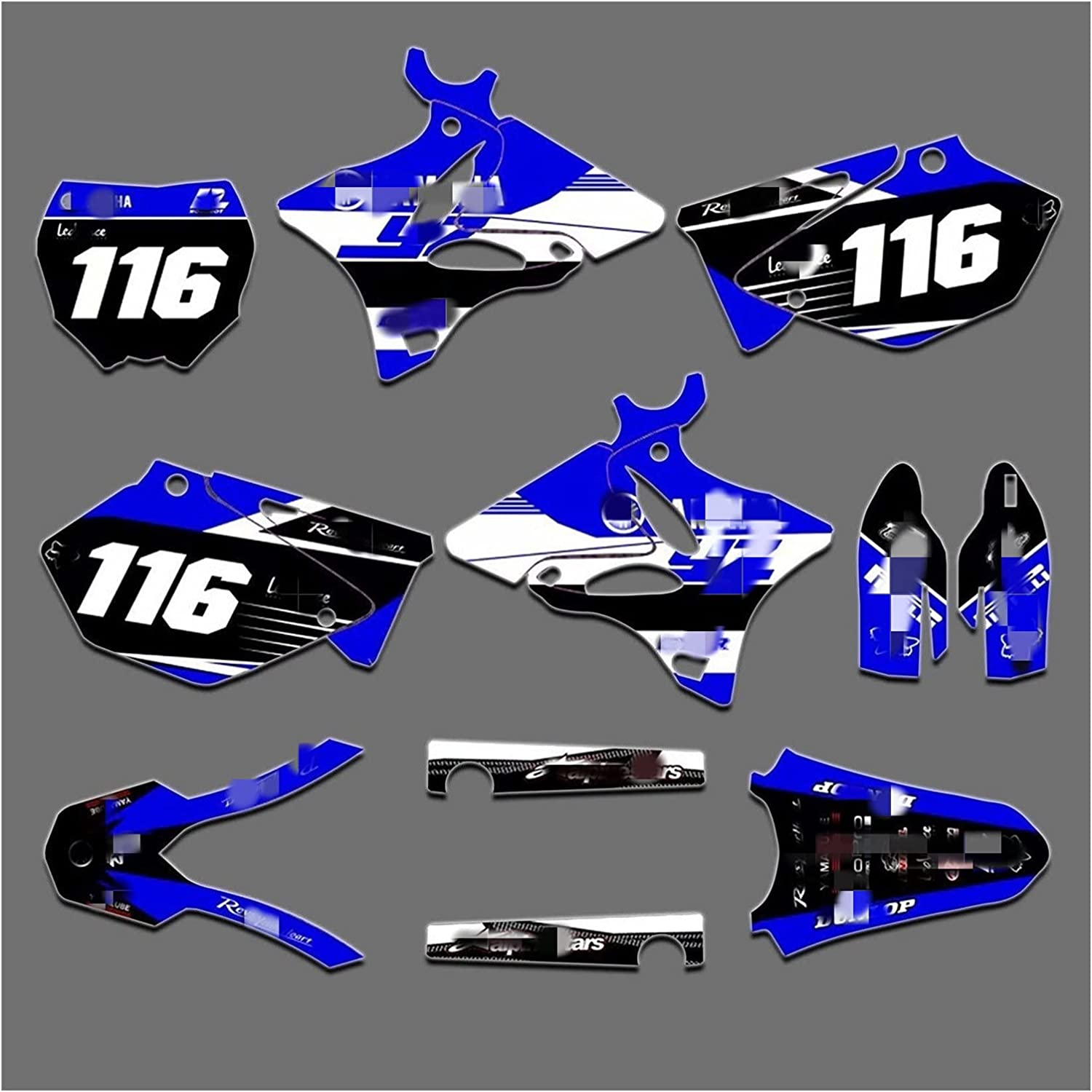 Deluxe Tatumyin HM2026-2037-07 Customized Cheap 3M Decals Motorcycle Stickers