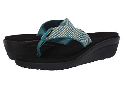 Teva Voya Wedge (Nitro Deep Lake) Women