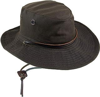 Village Hats Sombrero Pork Pie Diamond de Scala Tostado