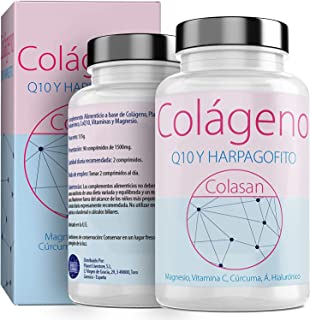 comprar comparacion Colágeno Con Magnesio |Vitamina C|Ácido Hialurónico + Q10 |Cúrcuma|Hárpago| Vitamina D3 |Suplemento Para Una Piel Radiante...