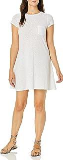 فستان نسائي ذو جيب قصير من ثلاث نقاط صديق للبيئة