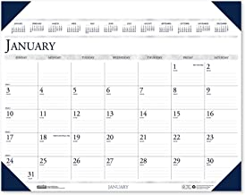product image for House of Doolittle 2020 Monthly Desk Pad Calendar, Executive, 24 x 19 Inches, January - December (HOD180-20)