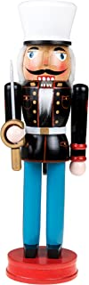 Clever Creations US Military Nutcracker | Traditional Christmas Nutcracker Wearing Marine Uniform with Ceremonial Sword | Perfect for Any Collection | 14