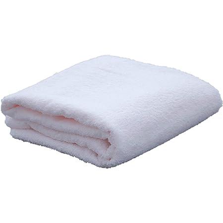 プーポ(PUPO)赤ちゃんの正方形バスタオル 泉州タオル 90×90cm ホワイト/ピンク/ブルー/クリーム 日本製 (ピンク)