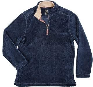 True Grit Mens Pebble Pile 1/4 Zip Pullover
