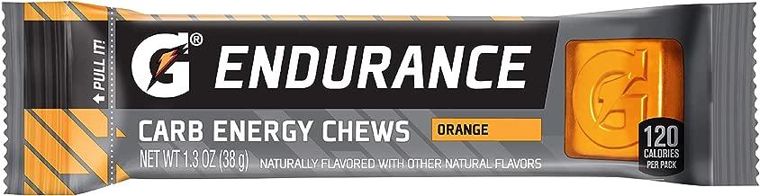 Gatorade Endurance Carb Energy Chews, Orange, 21 Count