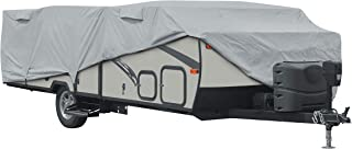 """Classic Accessories Over Drive PermaPRO Folding Camping Trailer Cover, Fits up to 8' 6""""L Trailers"""