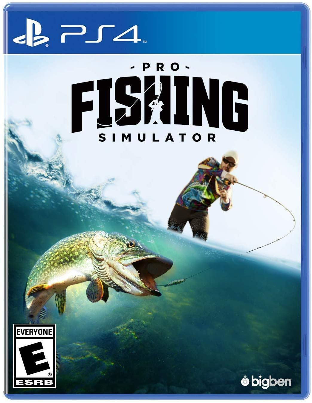 NEW before selling Pro store Fishing Simulator PS4 - 4 PlayStation
