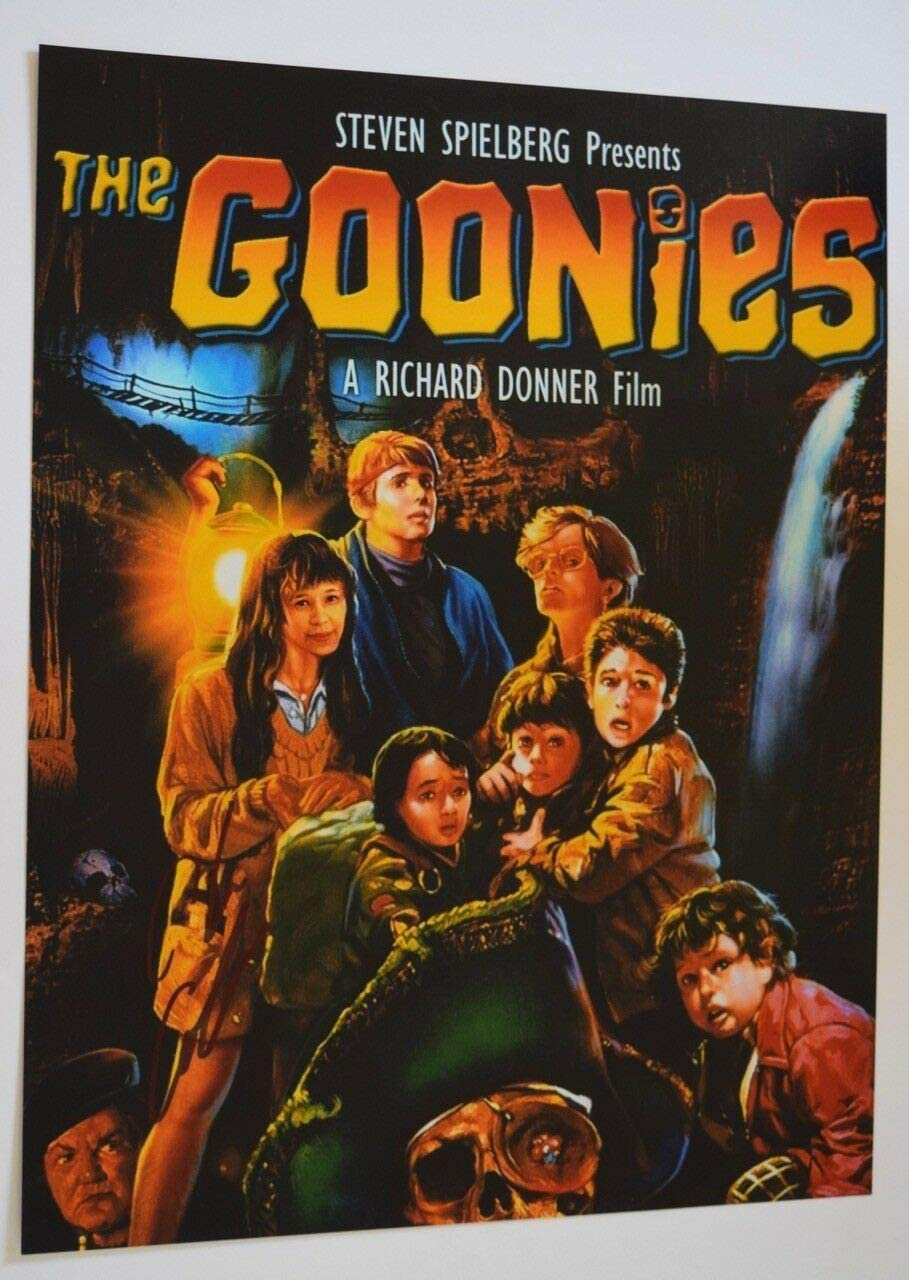 Spring new work one after Al sold out. another Chris Columbus Signed Autograph 11x14 GOONIES Photo THE D Poster