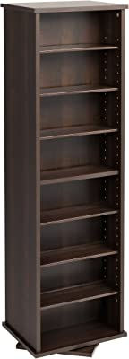 Amazon Com Prepac Large Four Sided Spinning Tower Storage