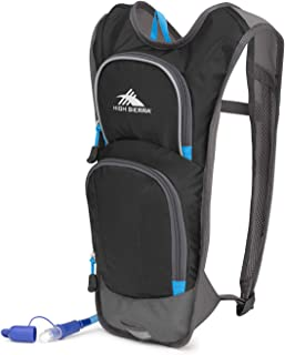 High Sierra HydraHike 4-Liter Hydration Pack with 2L Reservoir Included - Hydration Backpack with 2-Liter Water Bladder - Ideal as Bike Hydration Pack, Hiking Hydration Pack, Running Hydration Pack
