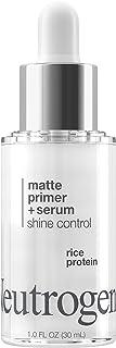 Neutrogena Shine Control Matte Booster Face Primer & Serum, Skin-Mattifying Serum-to-Primer with Rice Prote...