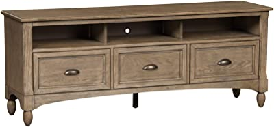 Liberty Furniture Industries Lakeside Entertainment TV Stand, Taupe