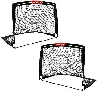Wiel Soccer Goal, 4Ft x 3Ft Net Easy Fold-Up Training...