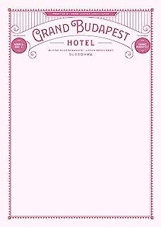 Grand Budapest Hotel: Fictional Hotel Notepad Set