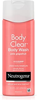 Neutrogena Body Clear Body Wash, Pink Grapefruit 8.5 oz (Pack of 2)