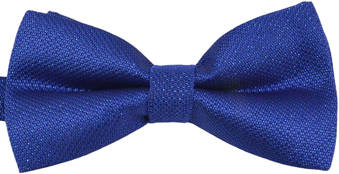SYAYA Mens Male boy Classic Pre-Tied Formal Tuxedo Bowtie Adjustable Large MT1