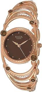 Titan Raga Aurora Analog Brown Dial Women's Watch-NM95049WM01 / NL95049WM01